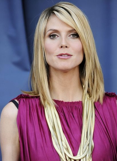 Heidi Klum Favorite Color Perfume Food Things Biography