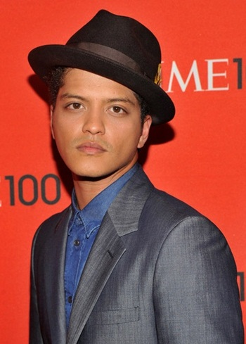 Bruno Mars Favorite Music Drink Instrument Animal Sports Biography