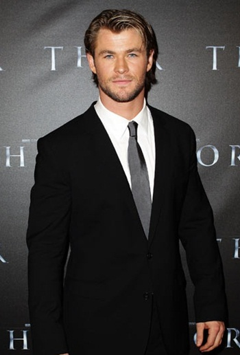 Chris Hemsworth Favorite Food Kiss Music Movies Biography