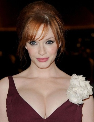 Christina Hendricks Favorite Blush Designers Perfume Biography