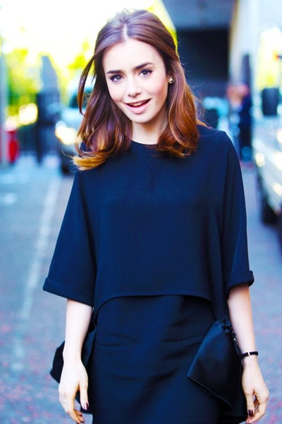 Lily Collins Favorite Books Color Food Music Movies Biography