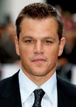 Matt Damon Favorite Movies Music Books Biography