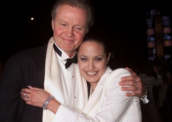 Angelina Jolie Father Jon Voight