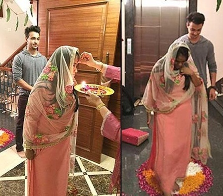 Arpita Khan and Aayush Sharma Wedding Pictures 3