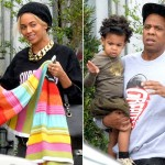 Beyonce Knowles Husband and Daughter