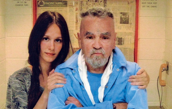 Charles Manson New Wife Afton Burton Pictures Revealed