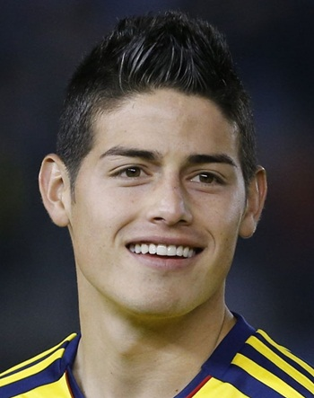 James Rodriguez Favorite Food Player Color Hobbies Things