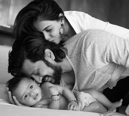 Riteish Deshmukh and Genelia D'Souza Son Pictures
