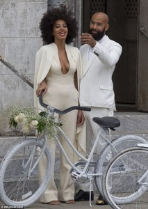 Solange Knowles Wedding Pictures with Husband revealed