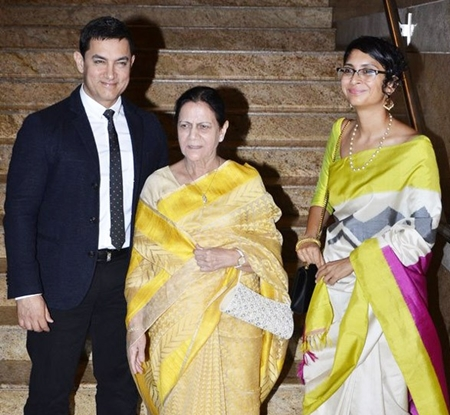 Aamir Khan Wife and Mother