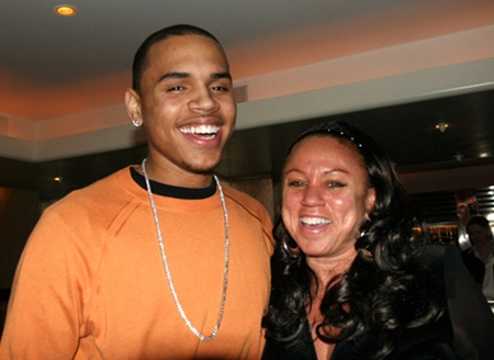 Chris Brown Mother