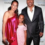 Dwayne Johnson Wife and Daughter