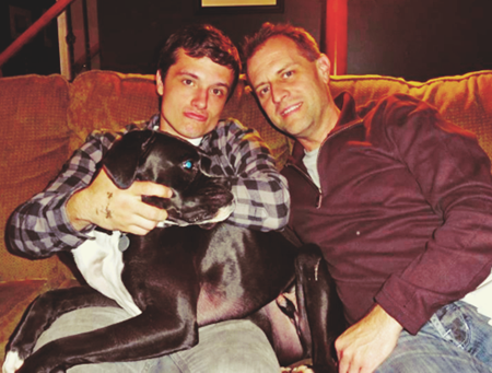 Photo of Josh Hutcherson & his  Father   Chris Hutcherson