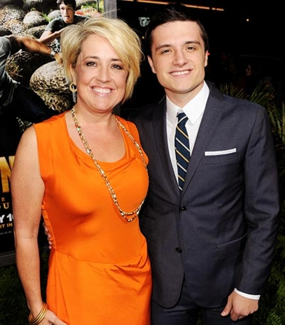 Photo of Josh Hutcherson & his  Mother   Michelle Fightmaster