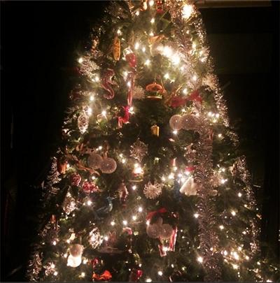 Lady Gaga Christmas Tree