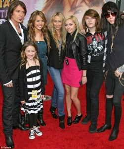 Miley Cyrus Family Tree Father, Mother Name Pictures