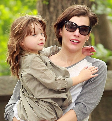 Milla Jovovich Daughter
