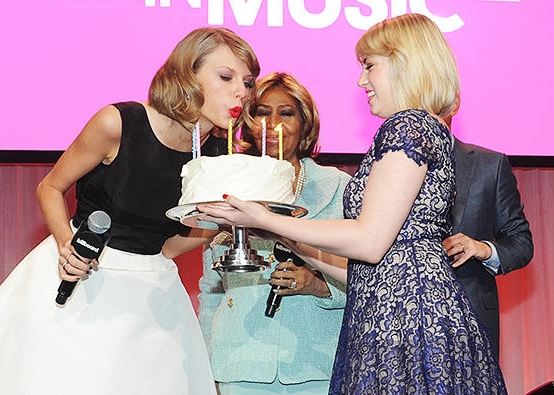 Taylor Swift 25th Birthday Cake
