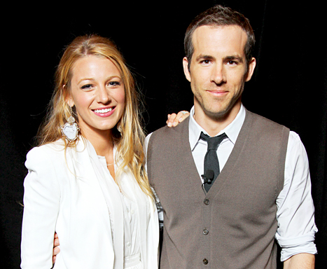 Ryan Reynolds First Baby Daughter Pictures