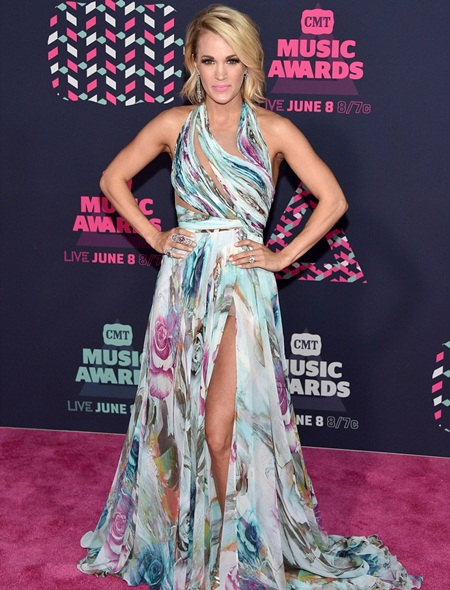Carrie Underwood Body Measurements