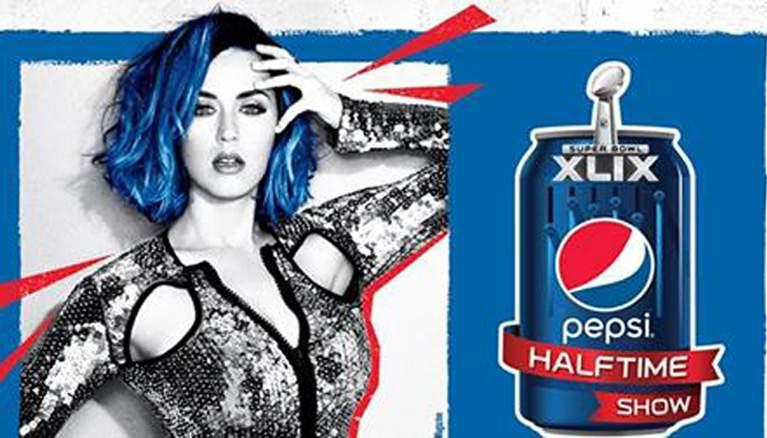 Katy Perry Super Bowl XLIX 2015 Halftime Performance Song and Dress Pictures