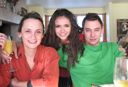 Photo of Nina Dobrev & her Brother  Alexander Dobrev