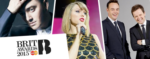 Brit Awards 2015 UK TV Live Broadcasting Channels List and Schedule