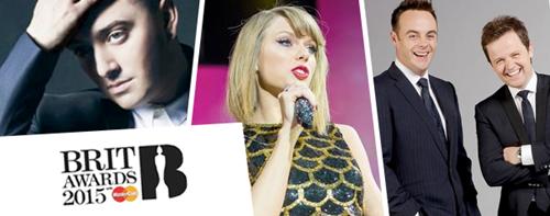 Brit Awards 2015 UK TV Live Broadcasting Channels List