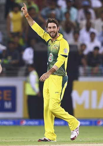 Glenn Maxwell Body Measurements