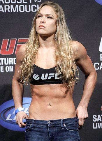 Ronda Rousey Bra Size Height Weight