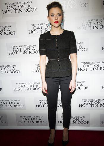 Scarlett Johansson Height Weight Bra Size