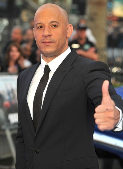 Vin Diesel Height Weight Body Stats