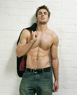 Chris Evans Height Weight Stats
