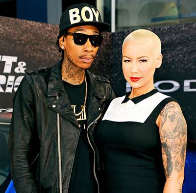 Amber Rose Husband Wiz Khalifa