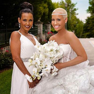 Photo of Amber Rose & her Mother  Shauna Soares