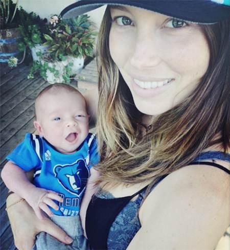 Justin Timberlake and Jessica Biel Son
