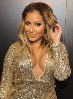 Adrienne Bailon Body Measurements Height Weight Bra Size ...