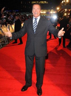 Arnold Schwarzenegger Height Body Shape