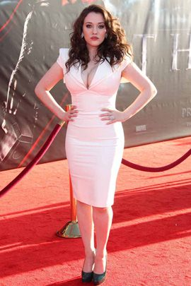 Kat Dennings Height Body Shape