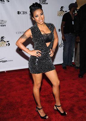 Keyshia Cole Height Body Shape