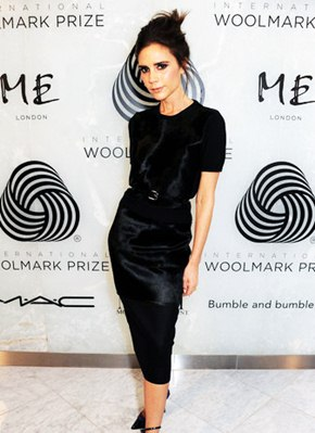 Victoria Beckham Body Shape