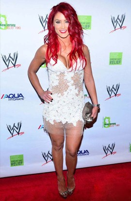 Eva Marie Height Body Shape