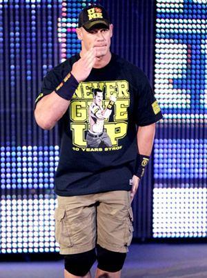 John Cena Height Body Shape