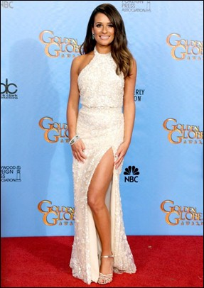 Lea Michele Height Body Shape