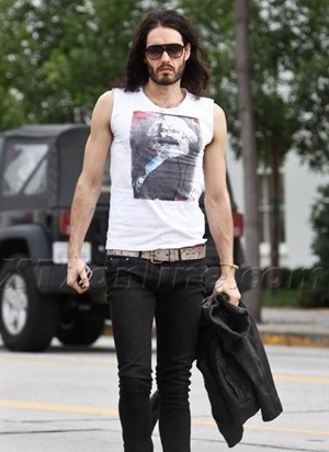 Russell Brand Height Body Shape