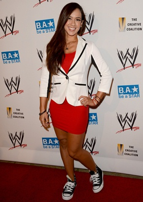AJ Lee Height Body Shape