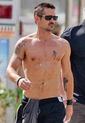 Colin Farrell Body Measurements Height Weight Shoe Size Vital Statistics