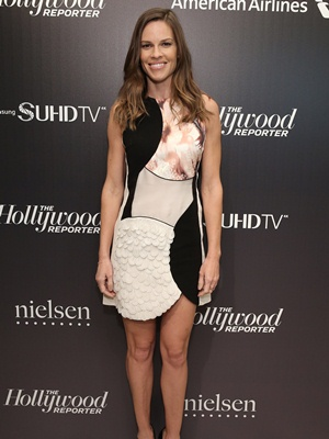Hilary Swank Height Body Shape