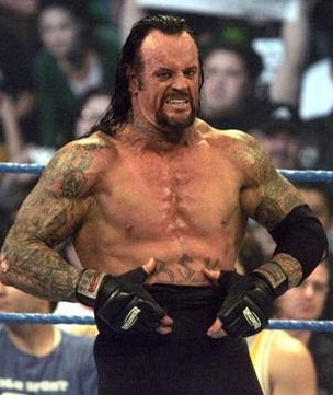 The Undertaker Body Measurements