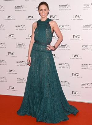 Emily Blunt Height Body Shape